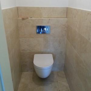 Verbouwing toilet